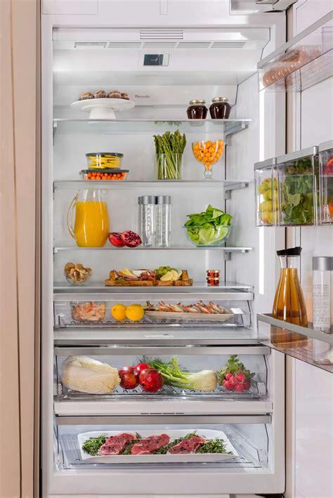 thermador tirsp   built  refrigerator column