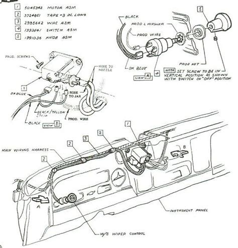1957 Chevy Windshield Wiper Wiring Diagram by Electric 2 Speed Wiper Wire Diagram 60s Chevy C10