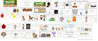 adventures preschool preschoola 237 | August to December Preschool Packs