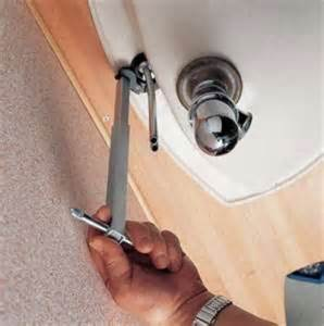 install kitchen sink faucet how to install a pedestal sink