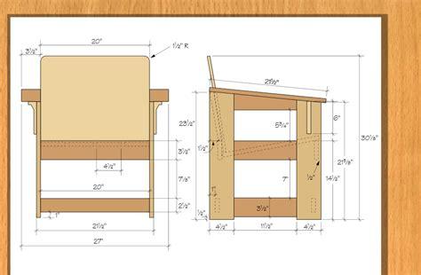 build  outdoor chair   quick start plan limbert style
