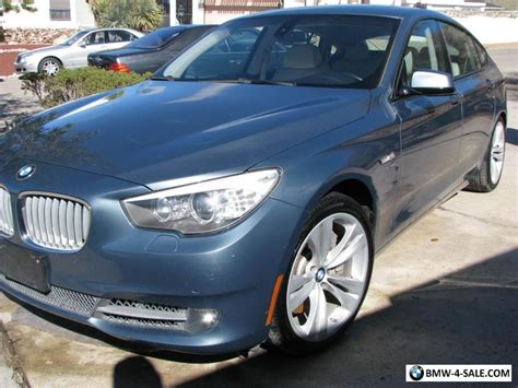 2010 Bmw 5-series 550i Gt Awd For Sale In United States