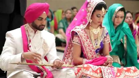 jasprit harjot sde sikh wedding highlights