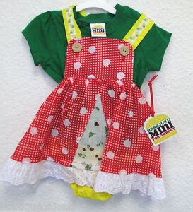 harajuku mini harajuku polka dot overall dress set yellow green baby ebay
