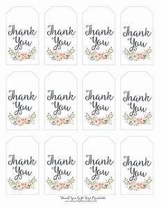 free printable thank you tags for favors printable 360 With how to print tags for favors