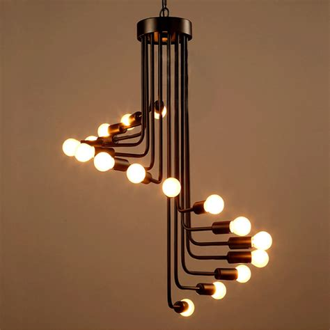 cuisiniste ind endant loft industrial retro chandelier personality simple