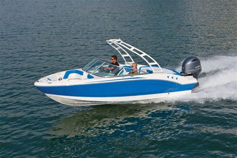 Chaparral Boats H20 by New Chaparral H20 21 Outboard Bowrider Trailer Boats