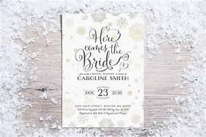 printable bridal shower invitations winter bridal shower With winter wedding shower invitations