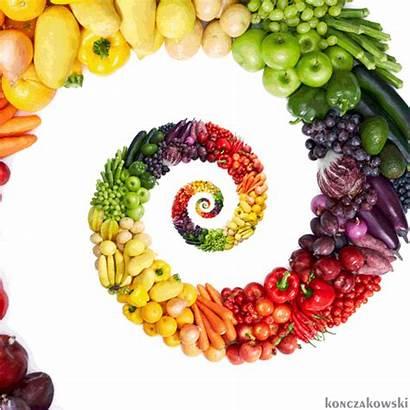 Veggies Vegetables Fruits Rainbow Zucchini Konczakowski