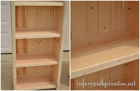 woodwork pine shelving plans  plans