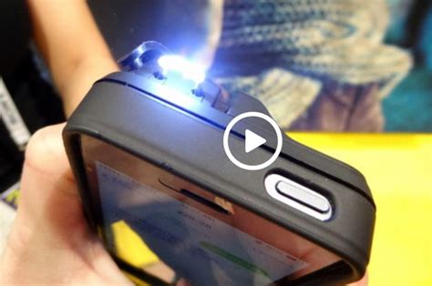 iphone taser yellow jacket iphone 5 stun gun