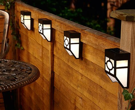 lights for fence solar fence light object