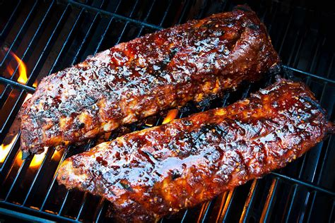 cooking ribs on grill cooking ribs on the grill tips tricks and truth