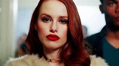 Cheryl Blossom Riverdale Gifs Petsch Madelaine Jughead