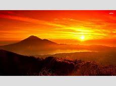 Sunrise In Bali Indonesia WallDevil