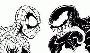 spiderman und venom zeichnen lernen schritt fuer schritt