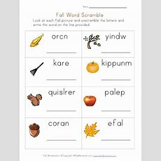Autumnfall Worksheets On Pinterest  Worksheets, Fall And Printables