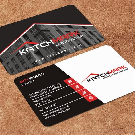 It is easy to put up a construction company if you have ideas and passion. Top 28 Examples of Unique Construction Business Cards