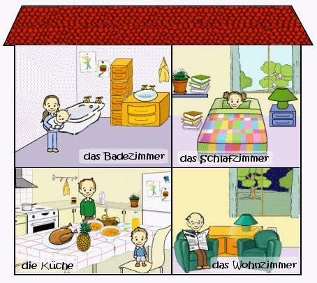 pieces de la maison cours de allemand a la maison maxicours