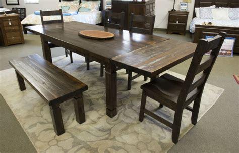 Reclaimed Harvest Table  Dining Room Furniture  Fine Oak
