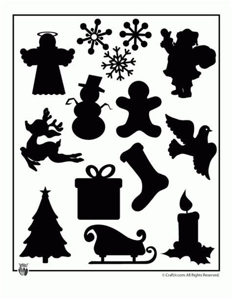 christmas village trees silhouette template free christmas design images the vinyl cut