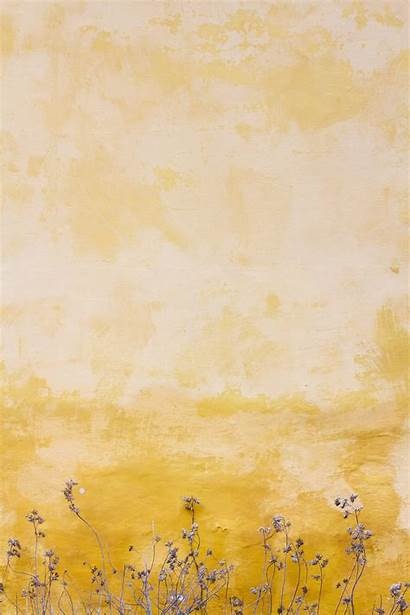 Wallpapers Screen Lock Yellow Wall Flowers 1000