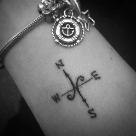 small compass tattoo ideas  pinterest small