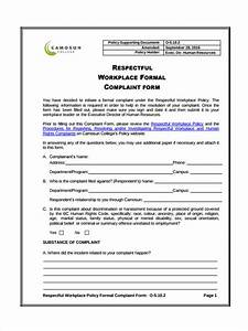 free hr complaint forms business plan templates sample With free hr documents