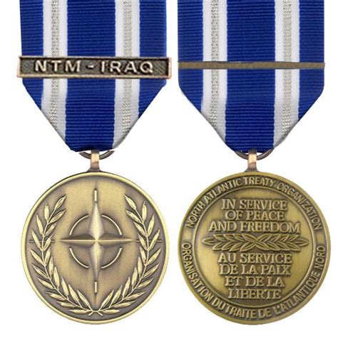 nato ntm iraq full size medal empire medals british