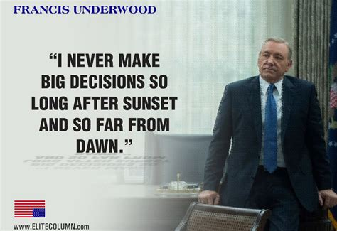 quotes  francis underwood  house  cards