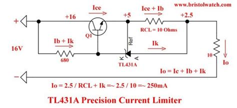 Based Current Limiter Constant Source Circuits