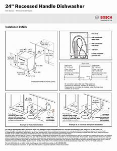 Bosch Dishwasher Wiring Instructions