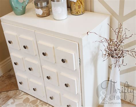 Apothecary Cabinet Ikea Hack by Thrifty And Chic Diy Projects And Home Decor