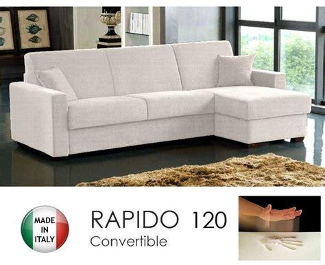 canape angle rapido canape d 39 angle convertible rapido 120cm dreamer tissu