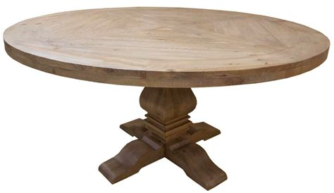 Mahogany Round Dining Table  Florence Dining Table