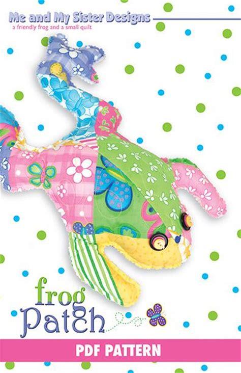 frogs patch quilt  patterns  pinterest