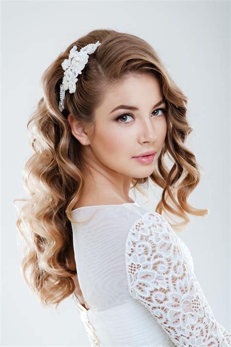 choosing  perfect hairstyle  match  wedding dress