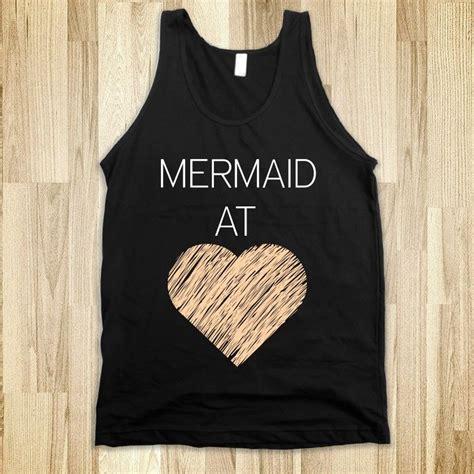 Mermaid At Heart Tank - Disney Craze - Skreened T-shirts ...