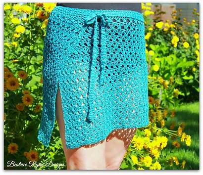 Suit Crochet Bathing Wrap Pattern Grace Amazing