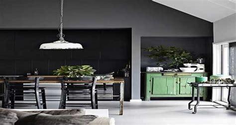 peinture cuisine le gris anthracite une couleur d 233 co tendance