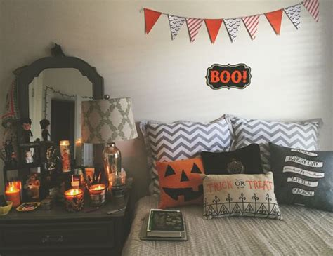 spooky  lovely kids room halloween decorations ideas