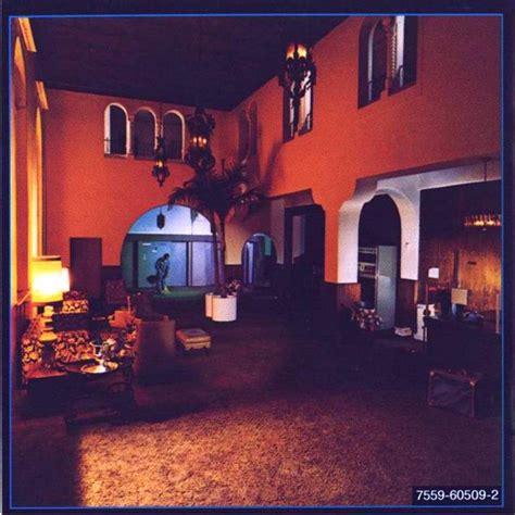 Carátula Interior Frontal De The Eagles  Hotel California Portada