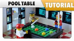 Tutorial ️ How to make a LEGO Pool Table - YouTube