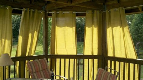 outdoor curtains for the gazebo gazebo curtains