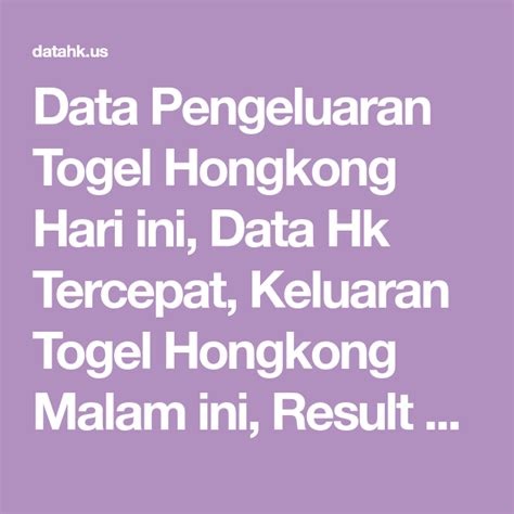 togel hongkong  hari  keluar hari   result code syair jitu