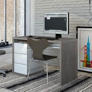 Hochglanz Schreibtisch Weiß Wei Hochglanz Schreibtisch Com