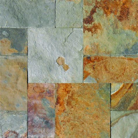 ms international tile ms international three rivers gold pattern gauged slate