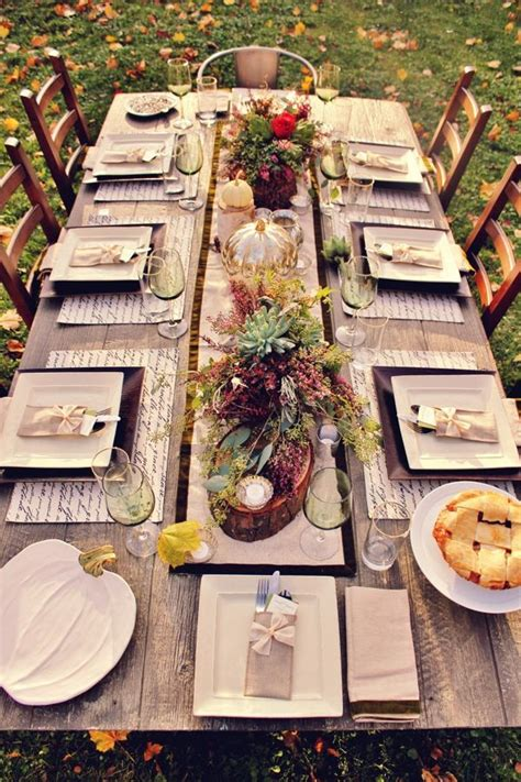 thanksgiving table ideas   heart  home
