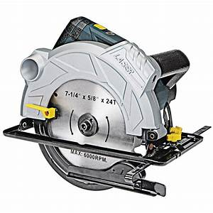 7 4 In  12 Amp Professional Circular Saw With Laser