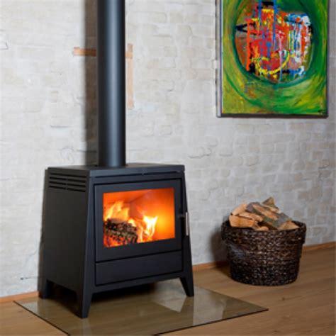 aduro 4 black modern wood burning stove